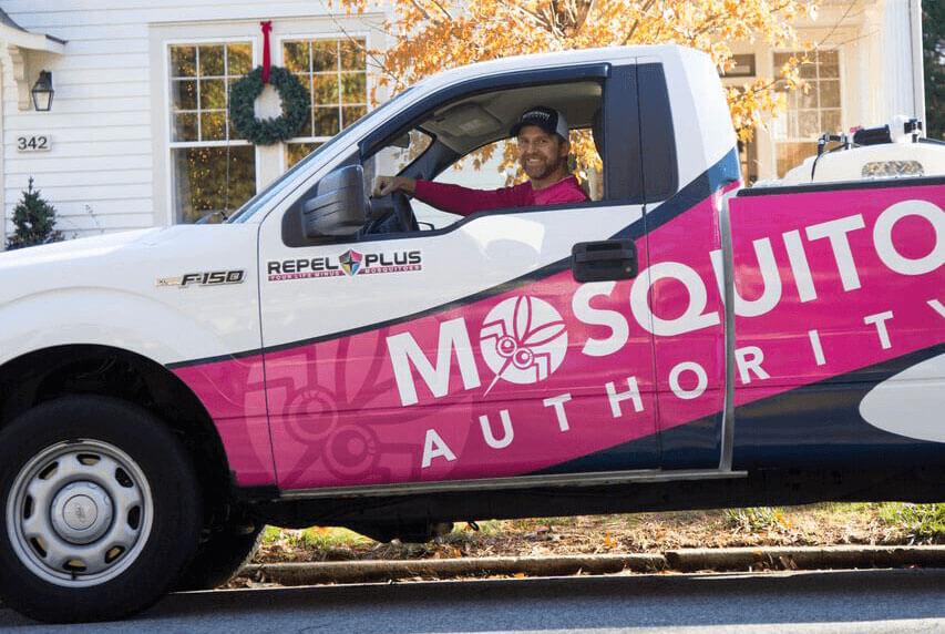 Mosquito Authority truck